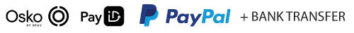 We accept Osko/PayID and PayPal.