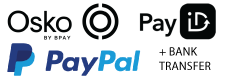 We accept Osko (PayID), PayPal and Zip Pay.